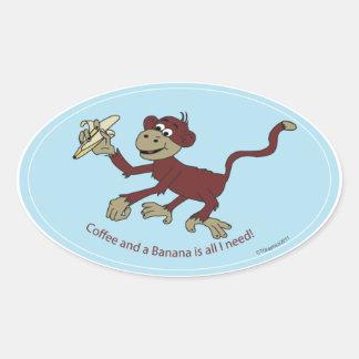 Monkey Lovin Sticker