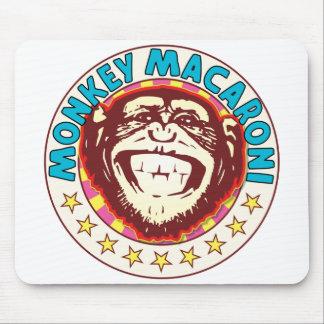 Monkey Macaroni Mouse Pad