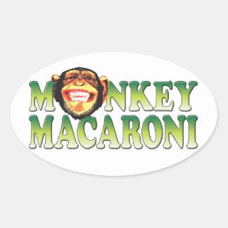 Monkey Macaroni Sticker