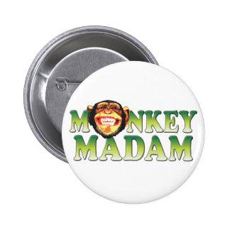 Monkey Madam Pin
