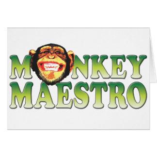 Monkey Maestro Cards