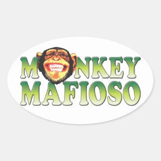 Monkey Mafioso Sticker