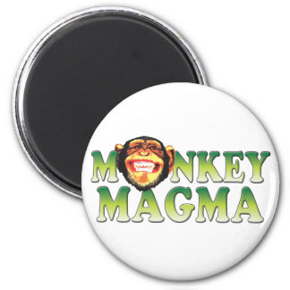 Monkey Magma Magnets