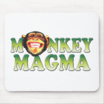 Monkey Magma Mouse Pad