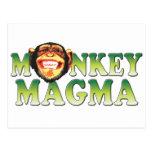 Monkey Magma Postcard
