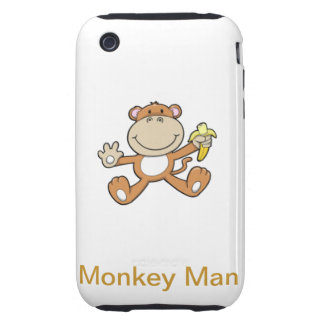 Monkey Man iPhone 3 Tough Covers