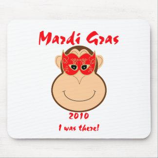 Monkey Mardi Gras gear: T-shirts and mugs Mouse Pad