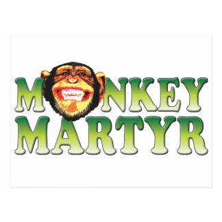 Monkey Martyr Postcards