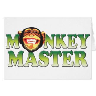 Monkey Master Card