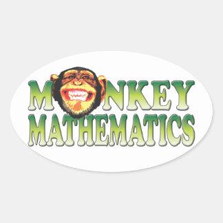 Monkey Mathematics Sticker