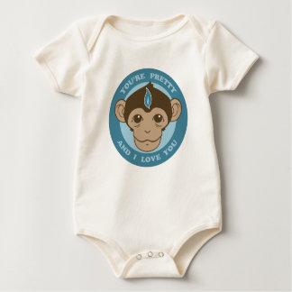 Monkey Mind Chalice Baby Bodysuit
