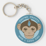 Monkey Mind Chalice Keychain