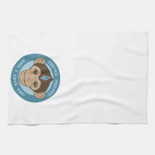 Monkey Mind Chalice Towel