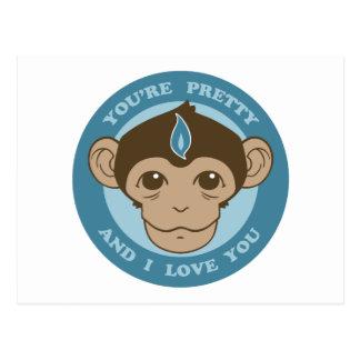 Monkey Mind Chalice Postcard