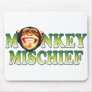Monkey Mischief Mouse Pad