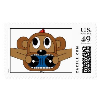 Monkey Mixers Stamps