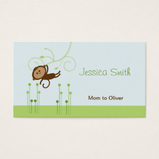 Monkey Mommy Calling Card