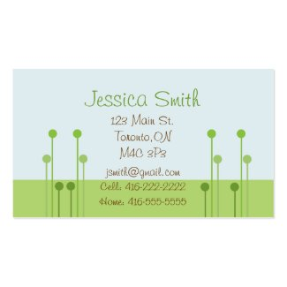 Monkey Mommy Calling Card Business Card Templates