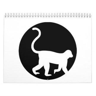 Monkey moon calendar