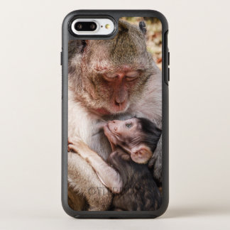 Monkey Mother And Baby Monkey OtterBox Symmetry iPhone 7 Plus Case