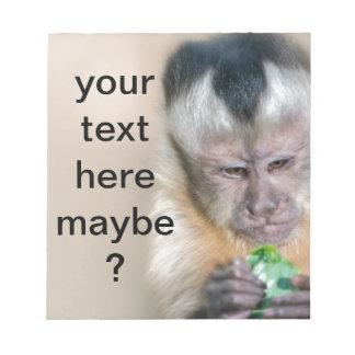Monkey Munchies Notepad