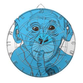 Monkey Music Dart Board
