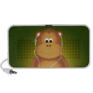 Monkey Music Mp3 Speakers