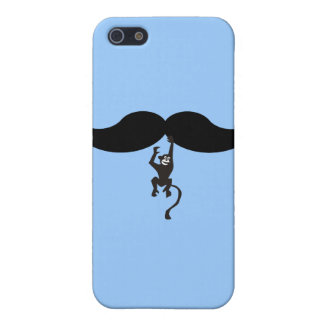 monkey mustache iPhone 5 cover