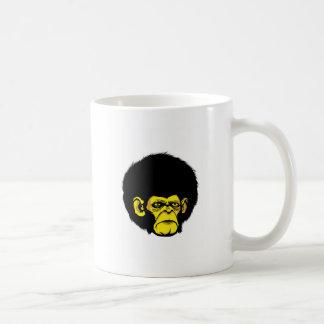 monkey myg classic white coffee mug