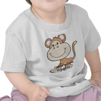monkey, nana's little monkey t-shirts