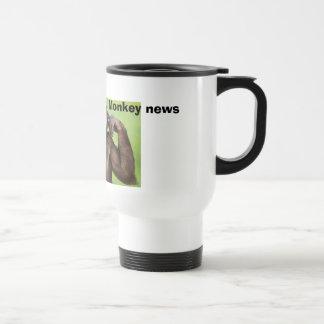 Monkey news! coffee mugs
