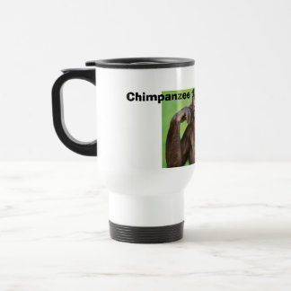 Monkey news! travel mug