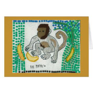 Monkey Notecard Stationery Note Card