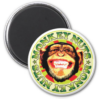 Monkey Nuts Magnets