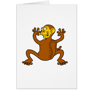 monkey off my back card