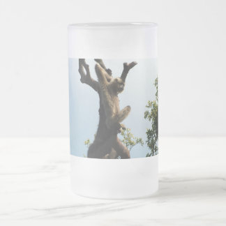 monkey on a tree coffee mugs