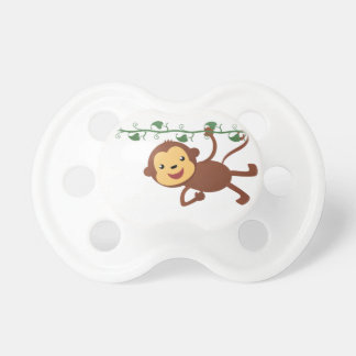 Monkey on a vine pacifier