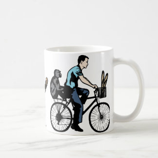 Monkey On Bike Coffee Mug