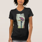 Monkey on cherry blossoms by Ando,Hiroshige T-Shirt