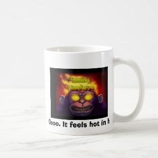 monkey on fire, Oooo. It feels hot in here. Mugs