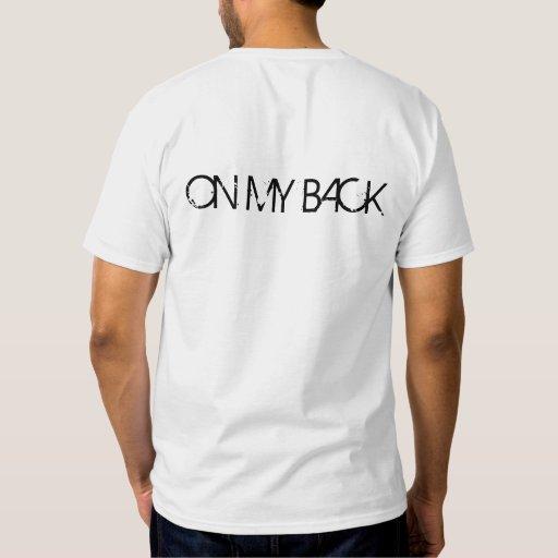 monkey on my back t-shirts