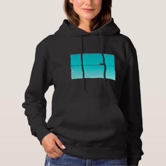 Monkey On Wire. Hoodie