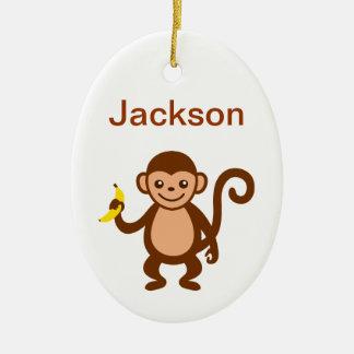 Monkey Ornament