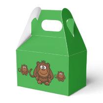 Monkey Party Favor Box