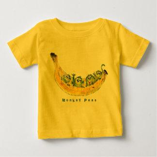 Monkey Peas Cartoon Cute Baby Baby T-Shirt