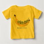 Monkey Peas Cartoon Cute Baby T-shirts