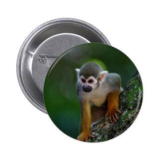 Monkey Pinback Button