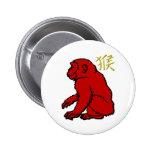 Monkey Pinback Buttons