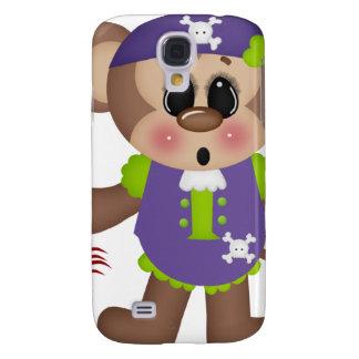 Monkey Pirate Samsung Galaxy S4 Cases