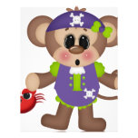 Monkey Pirate Custom Letterhead